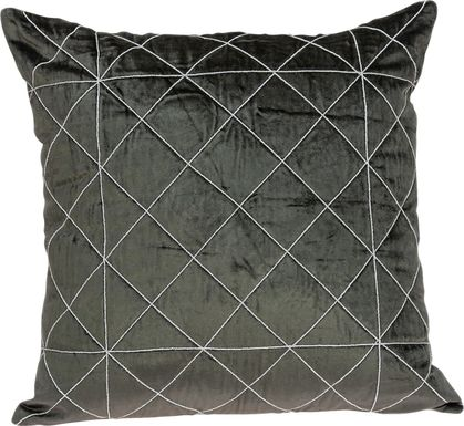 Donston Gray Accent Pillow