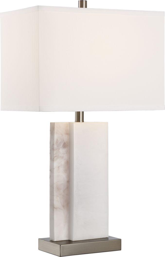 Doosey Lane White Table Lamp