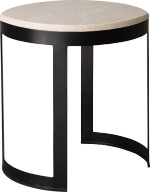 Doradale White Accent Table