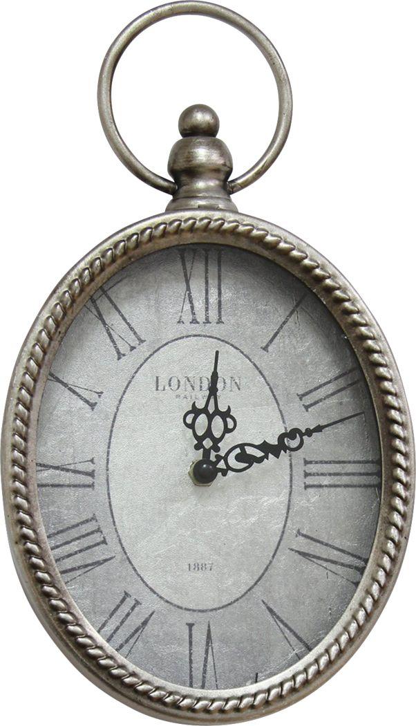 Doralis Silver Clock