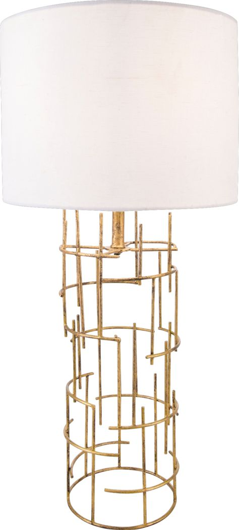 Doralma Gold Lamp