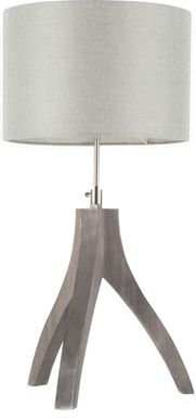 Dorino Gray Lamp