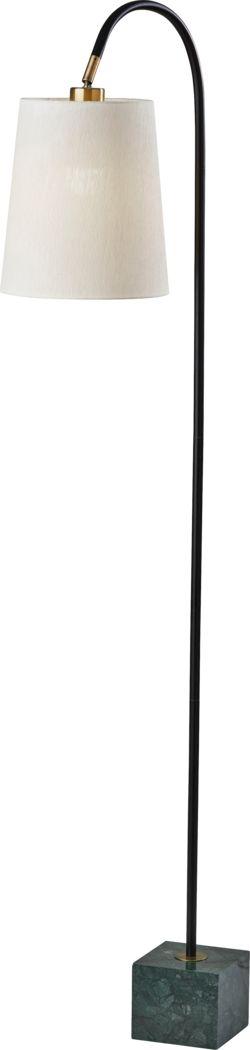 Downing Drive Black Floor Lamp