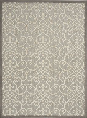 Drayce Natural 8' x 11' Indoor/Outdoor Rug