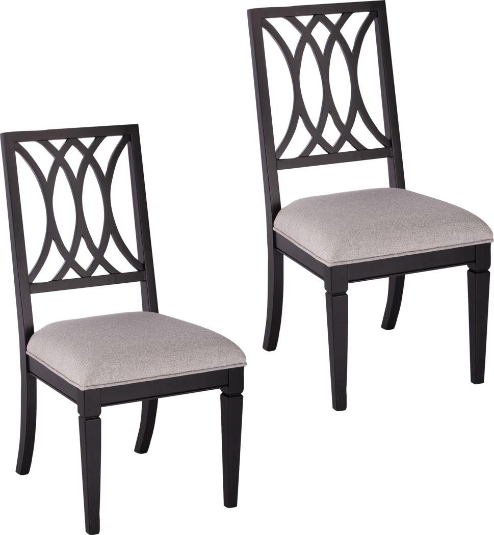 Drennen Gray Dining Chair, Set of 2