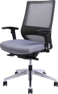 Drexel Gray Office Chair