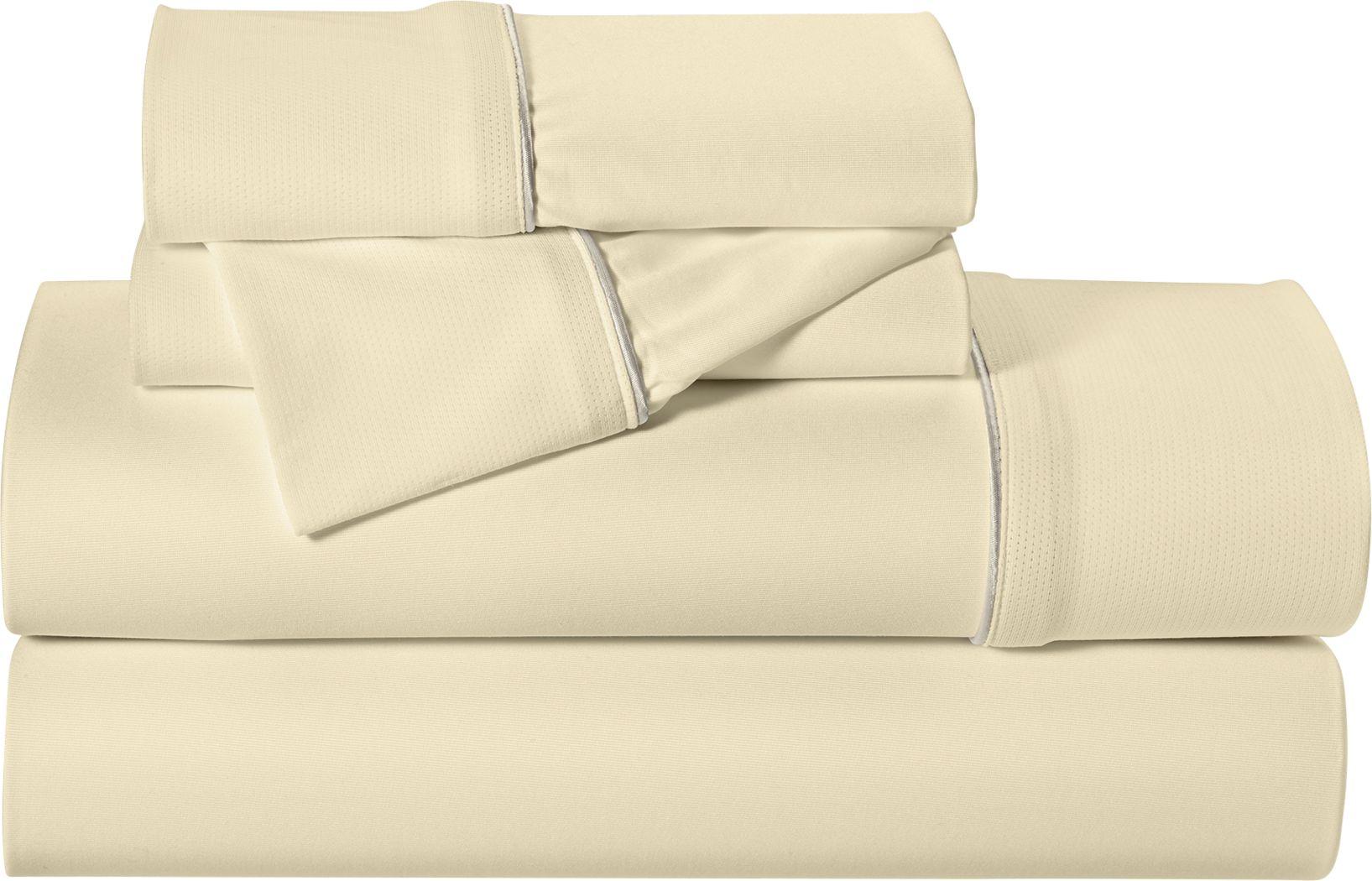 Dri-Tec Performance Champagne 3 Pc Twin XL Bed Sheet Set