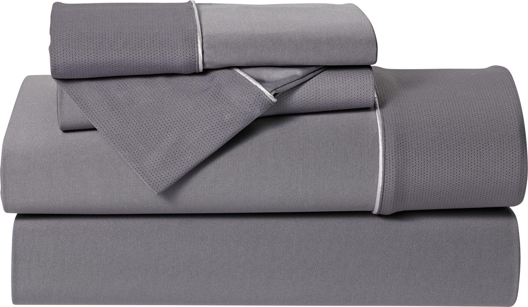 Dri-Tec Performance Granite 3 Pc Twin Bed Sheet Set