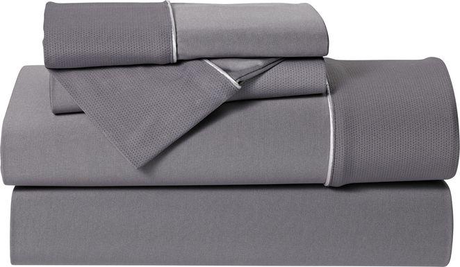Dri-Tec Performance Granite 4 Pc Full Bed Sheet Set