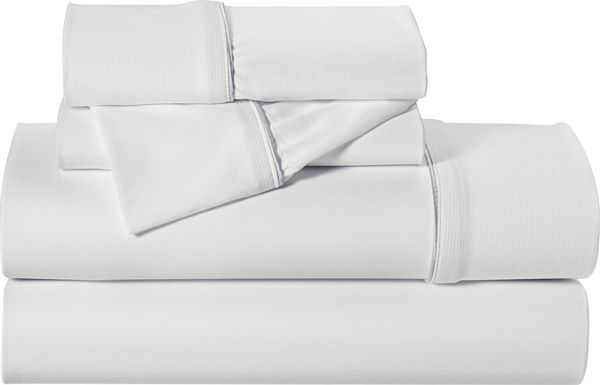 Dri-Tec Performance White 3 Pc Twin Bed Sheet Set