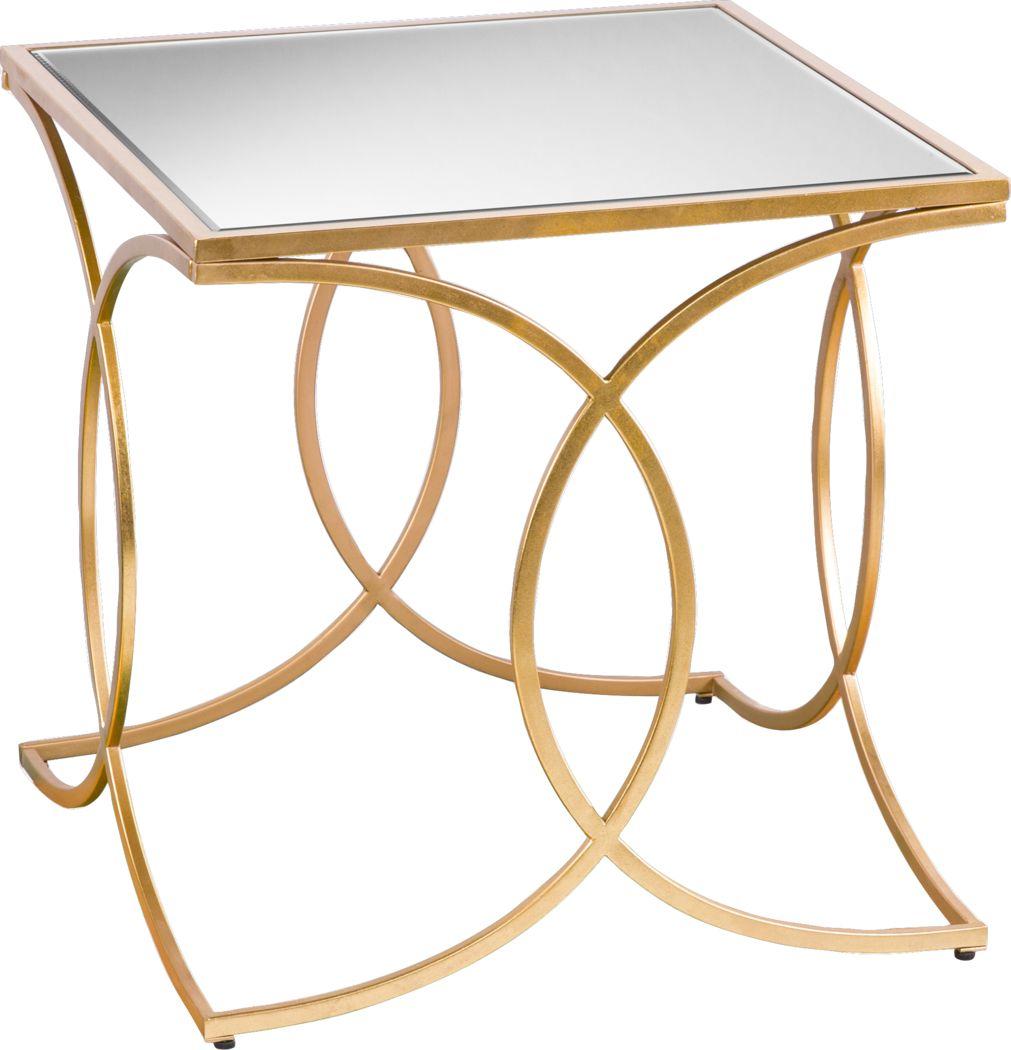 Drifton Gold End Table