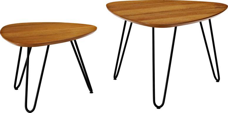 Druelle Walnut Nesting Tables