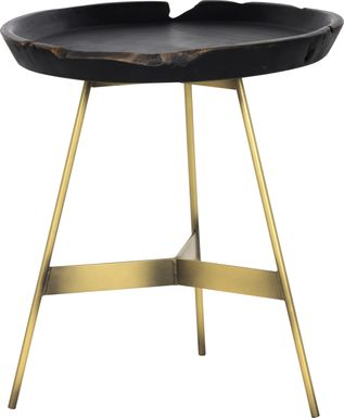 Duanna Black End Table