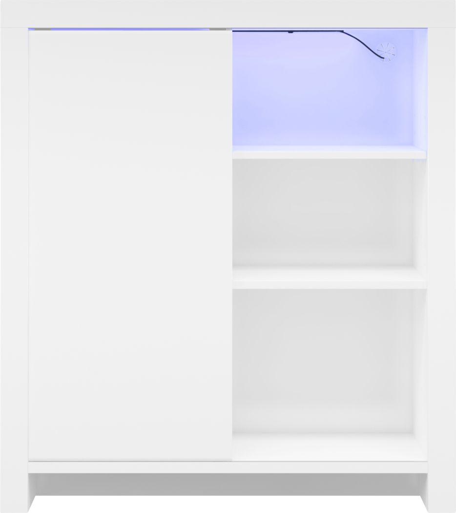 Ducatel White Accent Cabinet