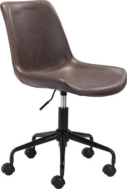 Duckney Brown Office Chair