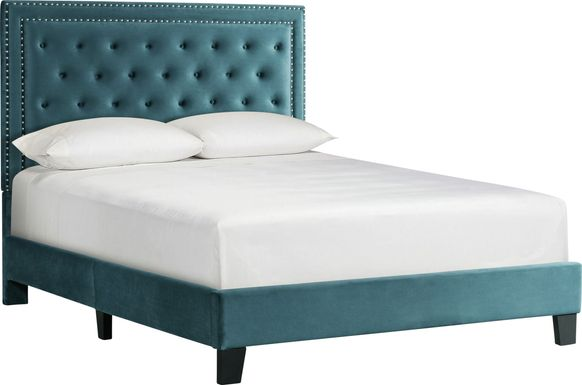 Dulverton Teal Queen Bed