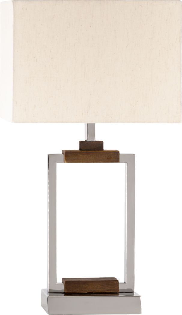 Dumond Point Silver Lamp