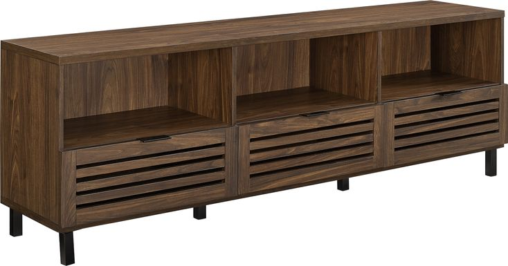 Dunmire Walnut 70 in. Console