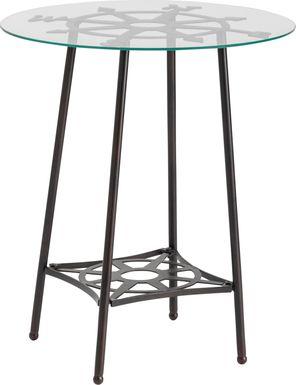 Dunnavant Black End Table