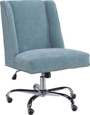 Dutson Aqua Desk Chair