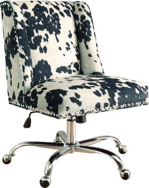 Dutson Black Desk Chair
