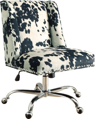 Dutson Black Desk Chair