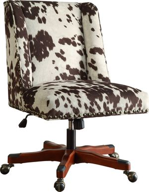 Dutson Brown Desk Chair