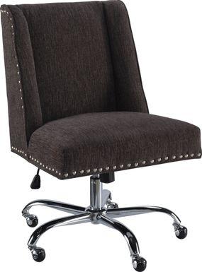 Dutson Charcoal Desk Chair