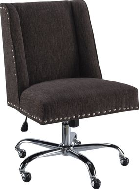 Dutson Charcoal Desk Chair