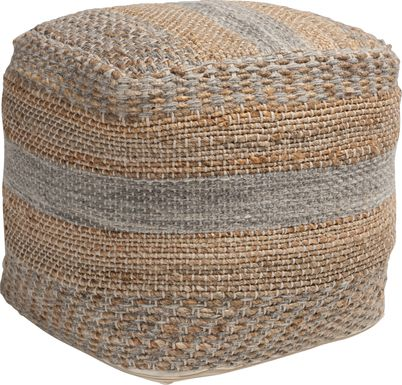 Duxberry Natural Pouf