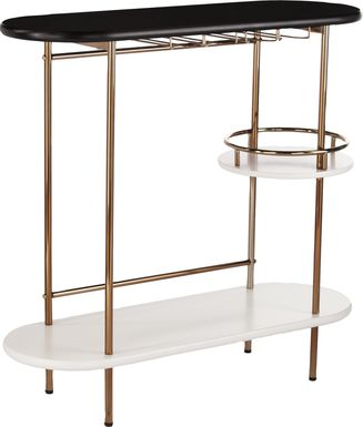Dyrehaven Black Bar Cart