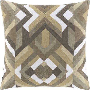Earlie Gray Accent Pillow