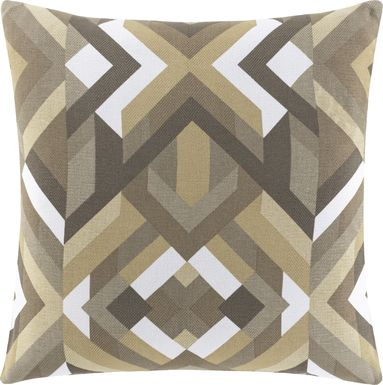 Earlie Gray Accent Pillow