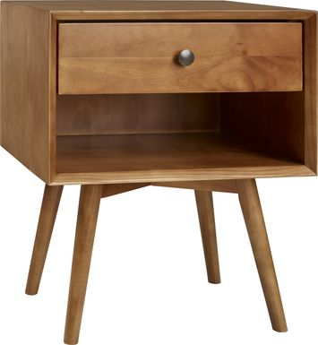 Earlywood Brown Nightstand