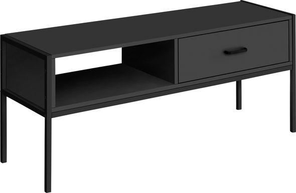 Easement Black 47 in. Console