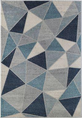 Eason Blue 5' x 7' Rug