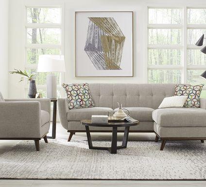 East Side Mushroom Chaise Sofa