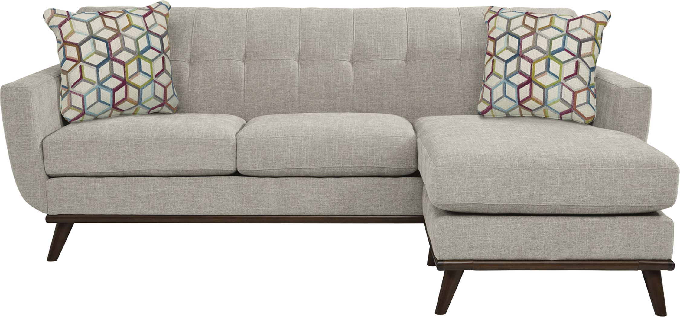 East Side Sand Chaise Sofa