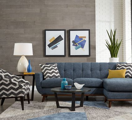 East Side Sapphire 2 Pc Sectional
