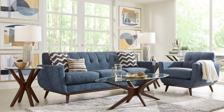 East Side Sapphire 5 Pc Living Room