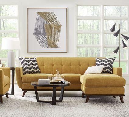 East Side Sunflower 5 Pc Sectional Living Room