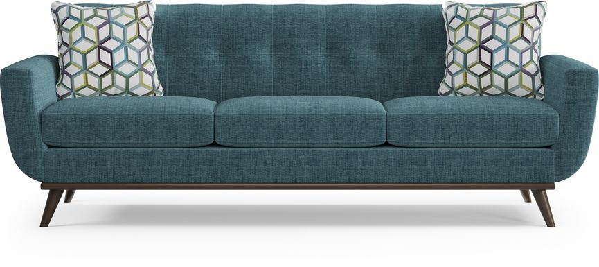 East Side Teal Sofa
