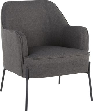 Eastchase Charcoal Accent Chair