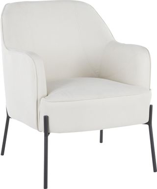Eastchase Cream Accent Chair