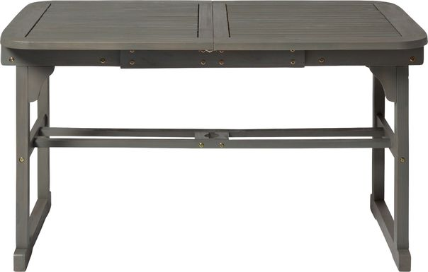 Eastline Gray Outdoor Dining Table
