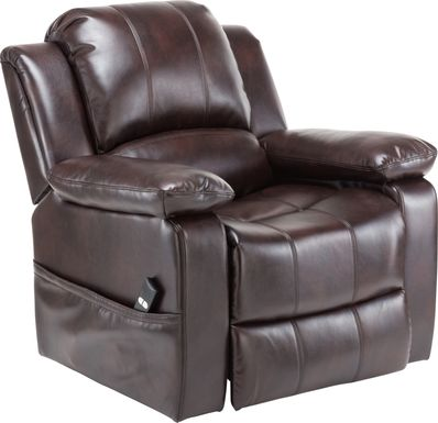 Eastover Brown Power Recliner