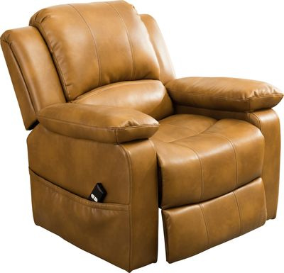 Eastover Camel Power Recliner