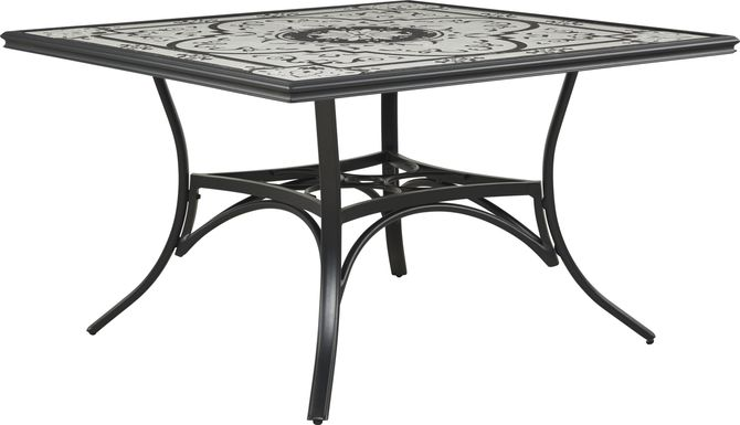 Eastvale Black Outdoor Dining Table