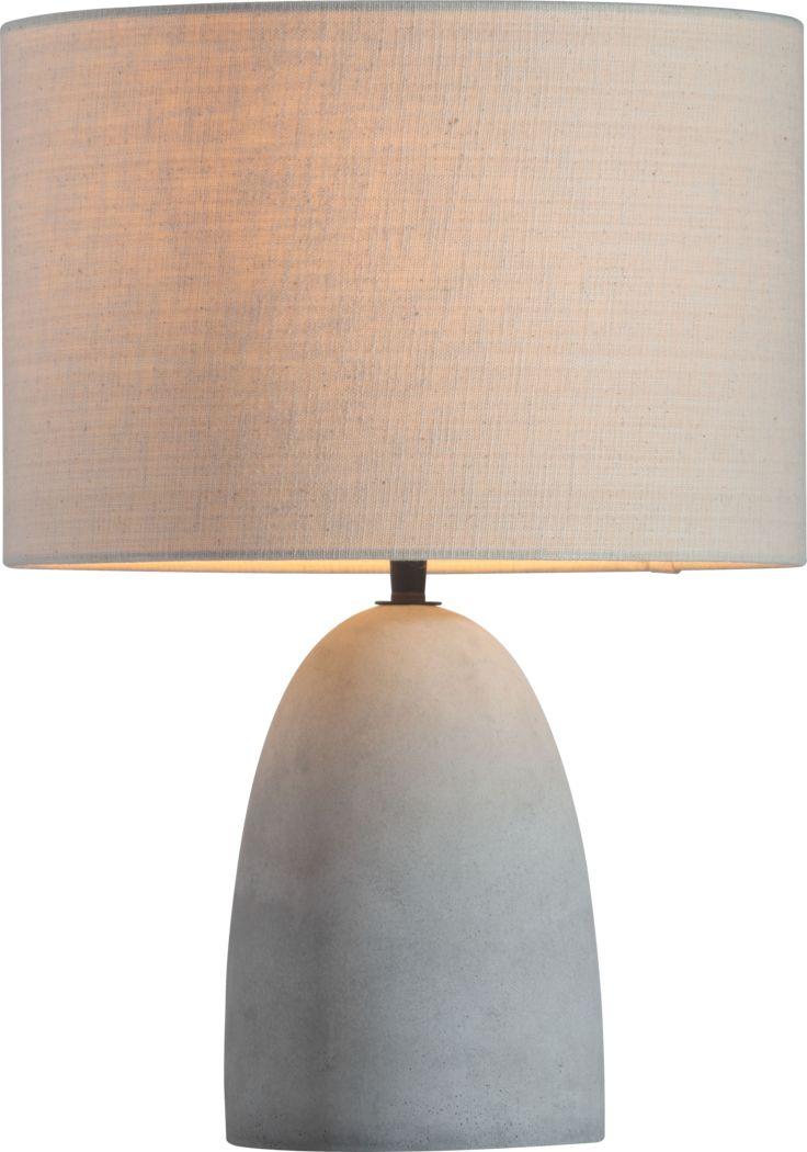 Ebbett and Ode Gray Lamp