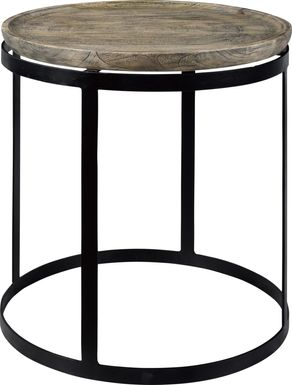 Echline Brown End Table